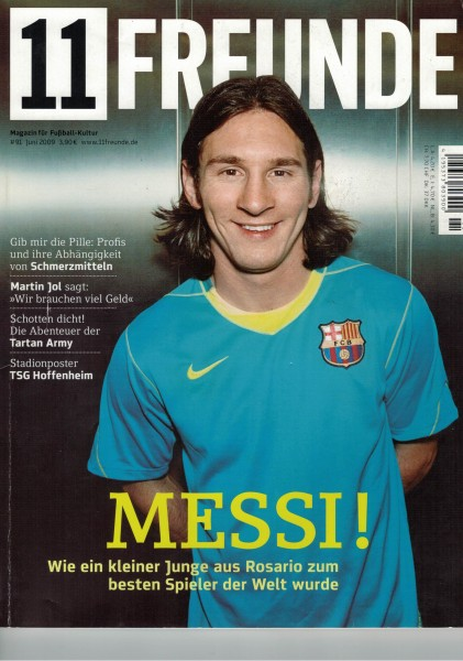 11 Freunde - Heft Nr. 091 - 06 Juni 2009
