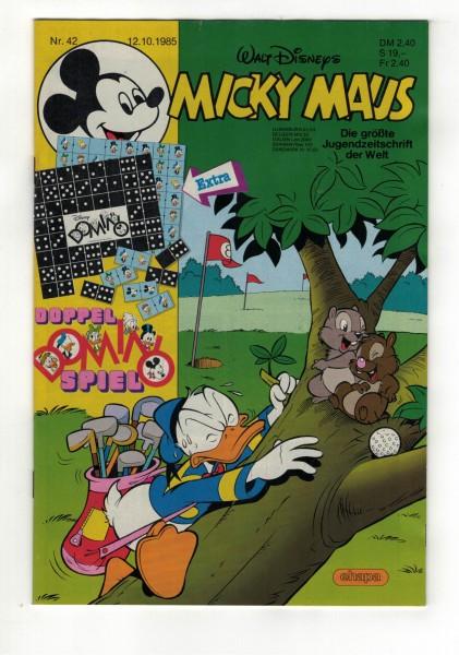 Micky Maus 1985 Nr. 42 / 12.10.1985