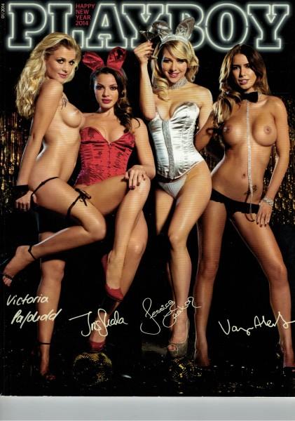 Playboy D 2014-01 Januar ABO-Cover