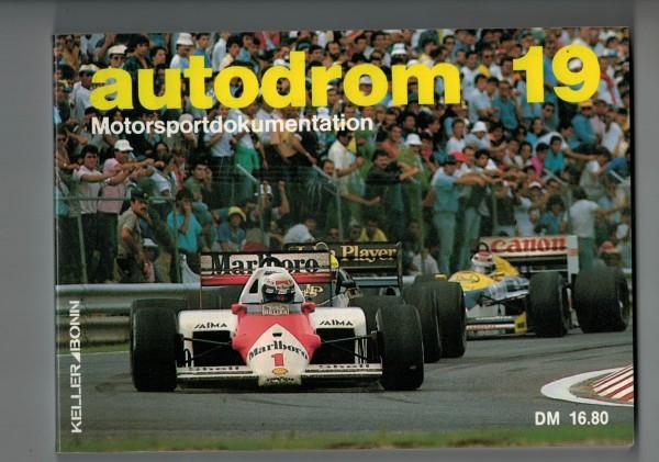 autodrom 19 - Motorsportdokumentation Ausgabe 1987