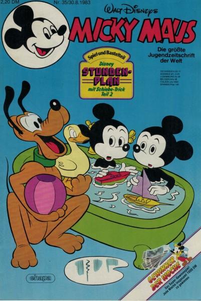 Micky Maus 1983 Nr. 35 / 30.08.1983