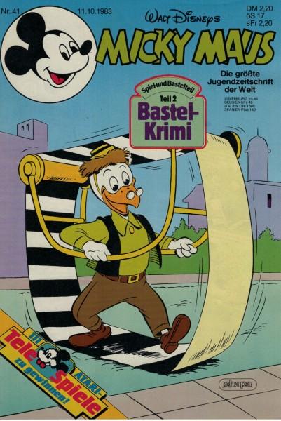 Micky Maus 1983 Nr. 41 / 11.10.1983