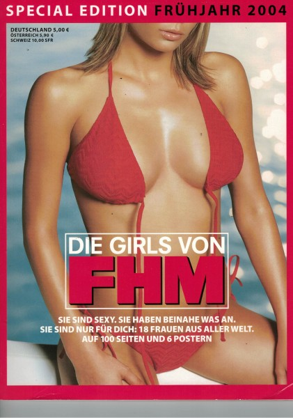 FHM - For Him Magazine - Special Edition Frühjahr 2004