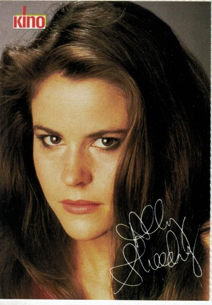 Kino-Autogrammkarte - Ally Sheedy