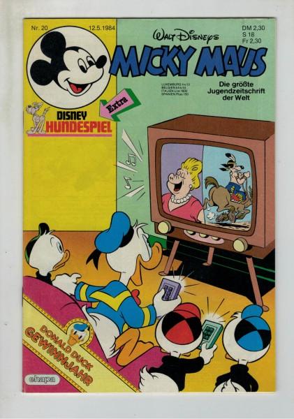 Micky Maus 1984 Nr. 20 / 12.05.1984