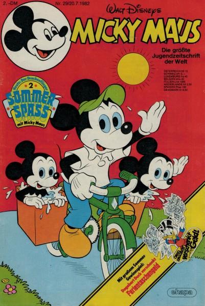 Micky Maus 1982 Nr. 29 / 20.07.1982