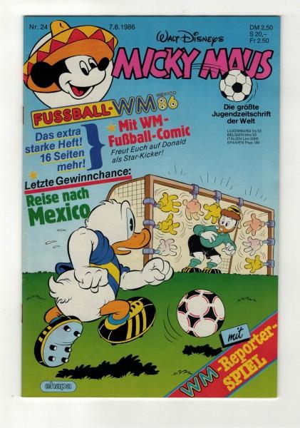 Micky Maus 1986 Nr. 24 / 07.06.1986