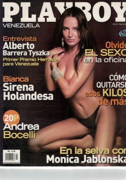 Playboy Venezuela 2008-01 Januar
