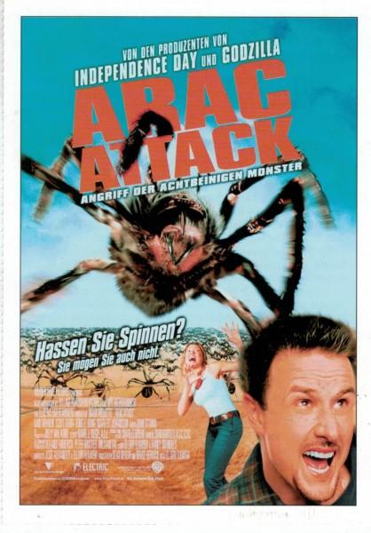 """Cinema Filmkarte """"Arac Attack - Angriff der achtbeinigen Monster"""""""