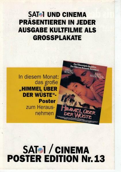 Cinema Poster Edition Nr. 13 - Himmel über der Wüste