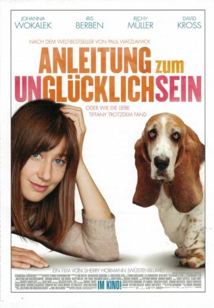 """Cinema Filmkarte """"Anleitung zum Unglücklichsein"""""""