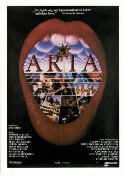 """Cinema Filmkarte """"Aria"""""""