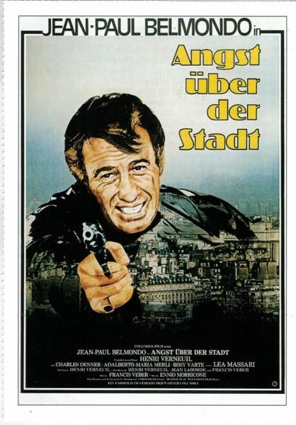 """Cinema Filmkarte """"Angst über der Stadt"""""""