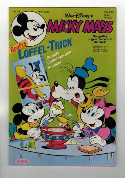 Micky Maus 1987 Nr. 26 / 16.06.1987