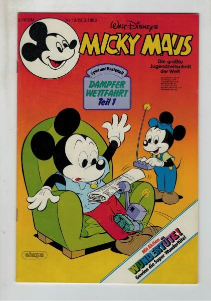 Micky Maus 1983 Nr. 12 / 22.03.1983