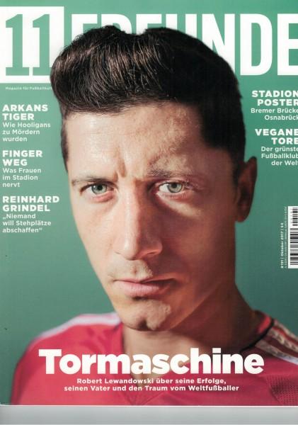11 Freunde - Heft Nr. 191 - 10 Oktober 2017
