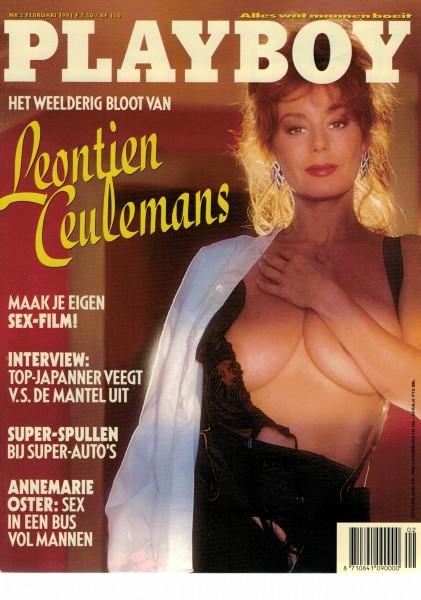 Playboy Niederlande 1991-02 Februar