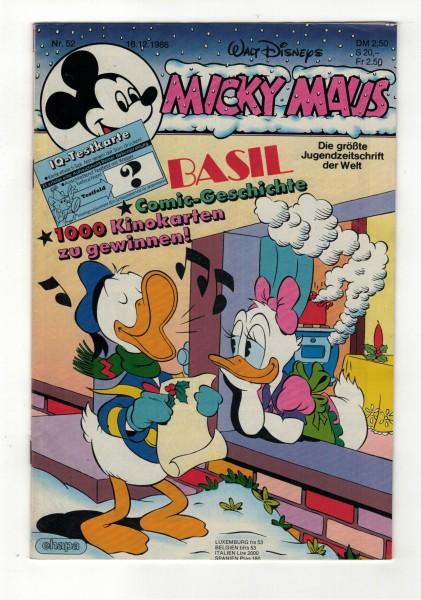 Micky Maus 1986 Nr. 52 / 16.12.1986