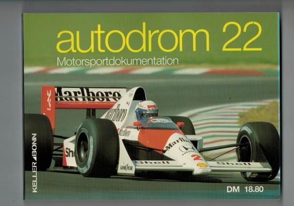 autodrom 22 - Motorsportdokumentation Ausgabe 1990