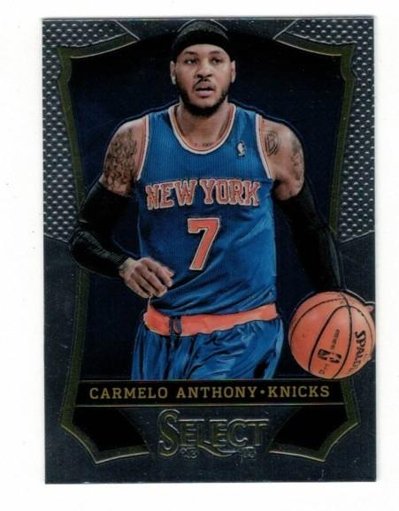 Basketballkarte - CARMELO ANTHONY - Panini - Select