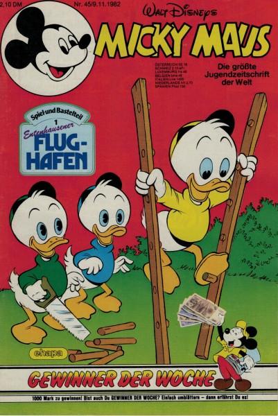Micky Maus 1982 Nr. 45 / 09.11.1982