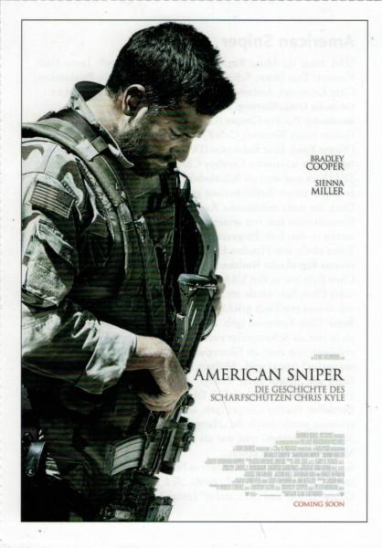 """Cinema Filmkarte """"American Sniper"""""""