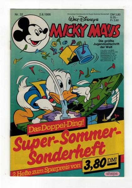 Micky Maus 1986 Nr. 32 / 02.08.1986