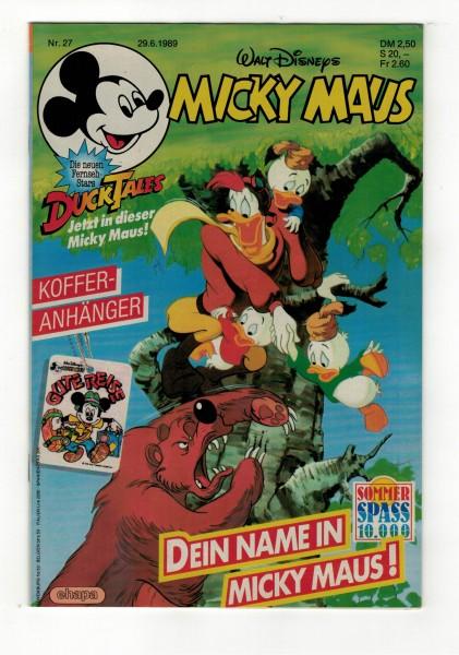 Micky Maus 1989 Nr. 27 / 29.06.1989