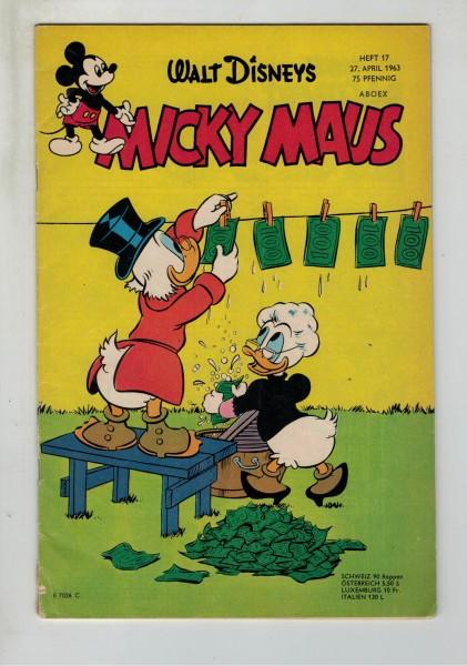 Micky Maus 1963 Nr. 17 / 27.04.1963
