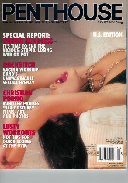Penthouse US Edition 2000-08 August