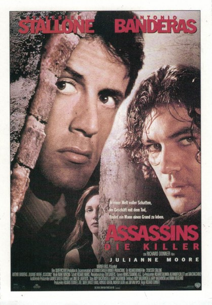 "Cinema Filmkarte ""Assassins - Die Killer"""