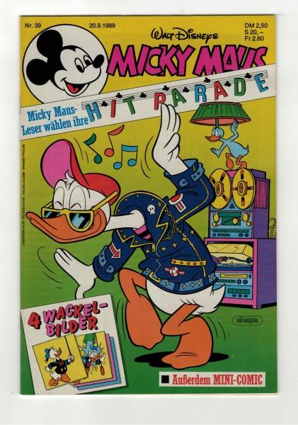 Micky Maus 1989 Nr. 39 / 20.09.1989