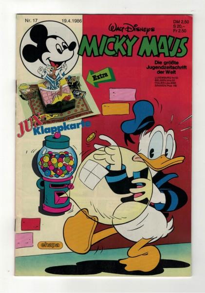 Micky Maus 1986 Nr. 17 / 19.04.1986