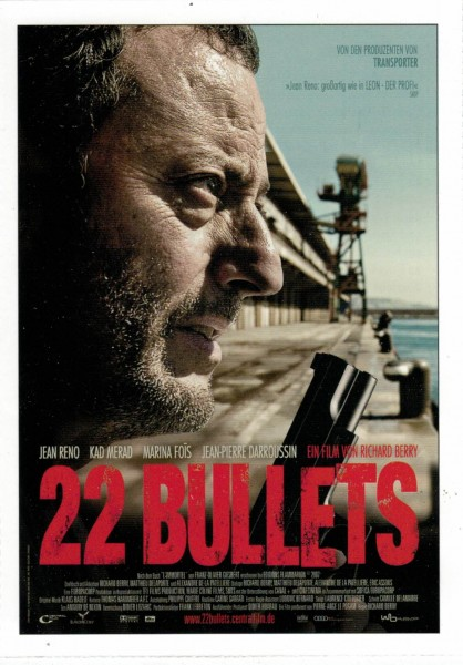 "Cinema Filmkarte ""22 Bullets"""