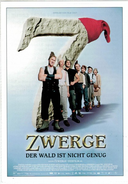"""Cinema Filmkarte """"7 Zwerge - Der Wald ist nicht genug"""""""