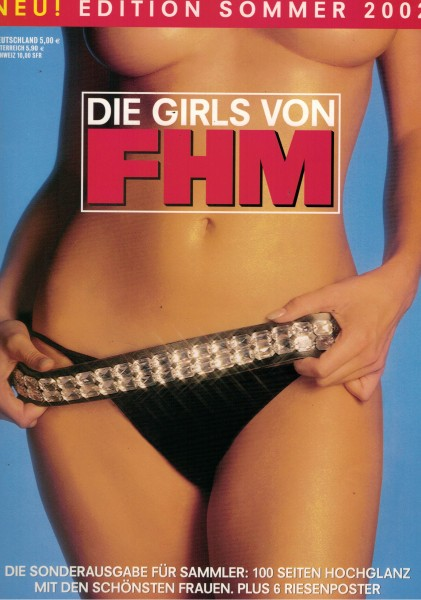 FHM - For Him Magazine - Edition Sommer 2002