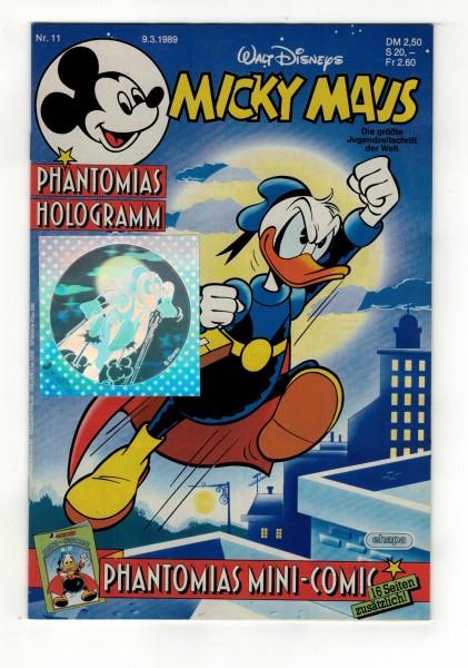 Micky Maus 1989 Nr. 11 / 09.03.1989