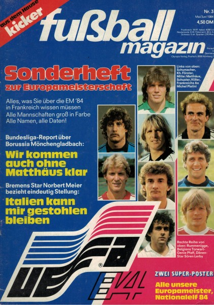 Kicker Sonderheft EURO 1984