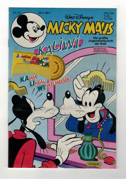 Micky Maus 1987 Nr. 27 / 25.06.1987
