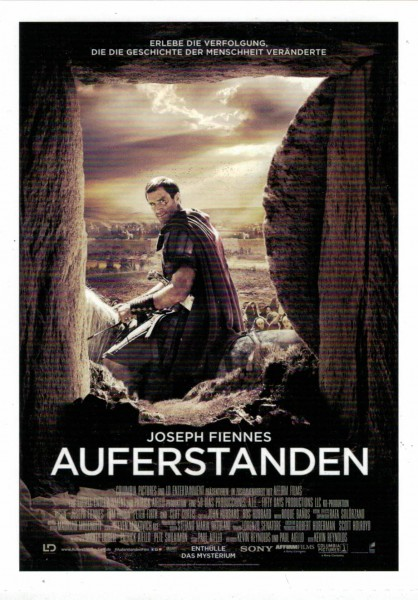"Cinema Filmkarte ""Auferstanden"""