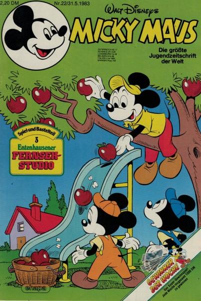 Micky Maus 1983 Nr. 22 / 31.05.1983