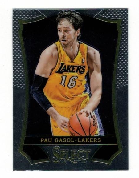 Basketballkarte - PAU GASOL - Panini - Select