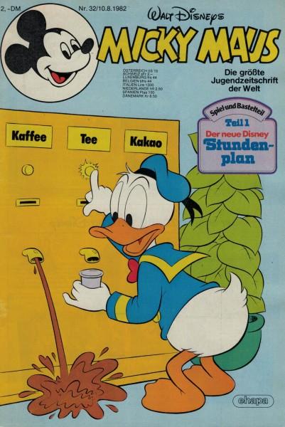 Micky Maus 1982 Nr. 32 / 10.08.1982