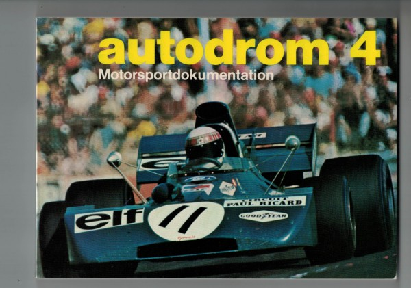 autodrom 04 - Motorsportdokumentation Ausgabe 1972