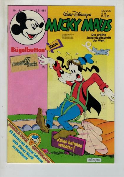 Micky Maus 1984 Nr. 19 / 05.05.1984