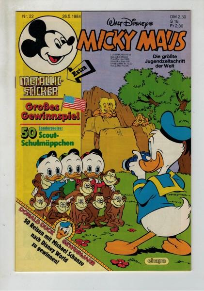Micky Maus 1984 Nr. 22 / 26.05.1984