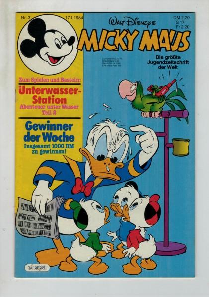Micky Maus 1984 Nr. 03 / 17.01.1984
