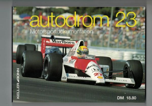autodrom 23 - Motorsportdokumentation Ausgabe 1991