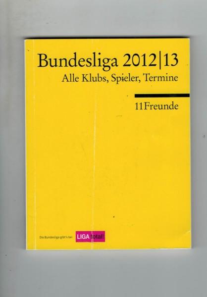 11 Freunde - Bundesliga Planer 2012/13