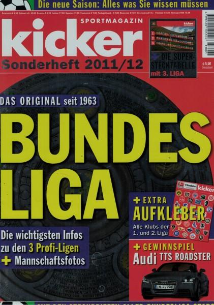 Kicker Sonderheft Bundesliga 2011/12